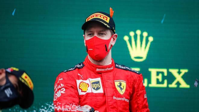 In Istanbul stand Sebastian Vettel endlich mal wieder auf dem Treppchen