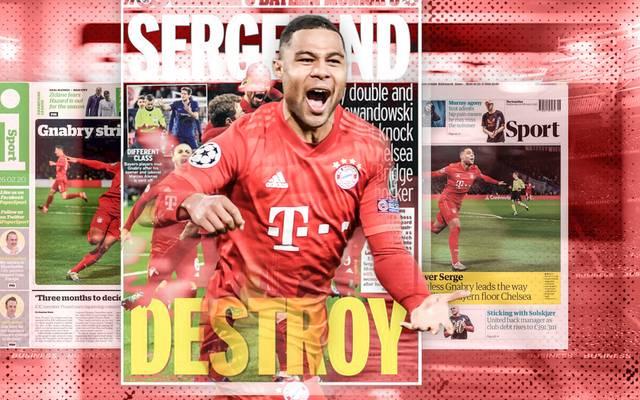 Der FC Bayern siegt deutlich beim FC Chelsea und erntet Lob der internationalen Presse