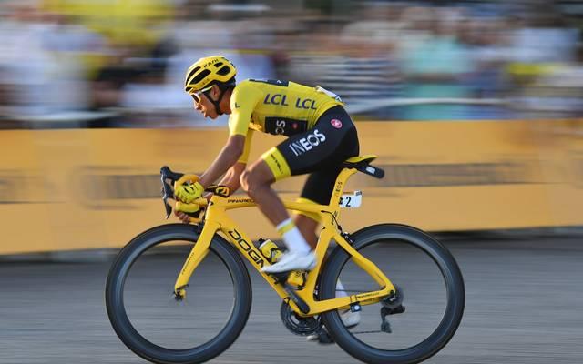Egan Bernal bei der Tour de France 2019