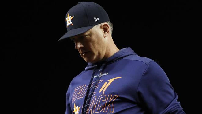 AJ Hinch wird so schnell kein Baseball-Stadion betreten. Die MLB sperrte den Ex-Coach der Astros