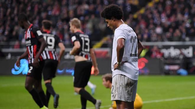 Serge Gnabry und der FC Bayern kassierte eine 1:5-Pleite