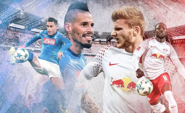 RB Leipzig bekommt es in der K.o.-Phase der UEFA Europa League mit dem SSC Neapel zu tun. SPORT1 zeigt vor dem Hinspiel (ab 21 Uhr LIVE im TV auf SPORT1) die Schlüsselduelle