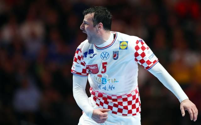 Domagoj Duvnjak trifft mit Kroatien auf Spanien