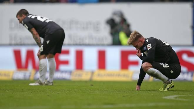 Der Karlsruher SC liegt in der 2. Bundesliga auf dem 17. Tabellenplatz