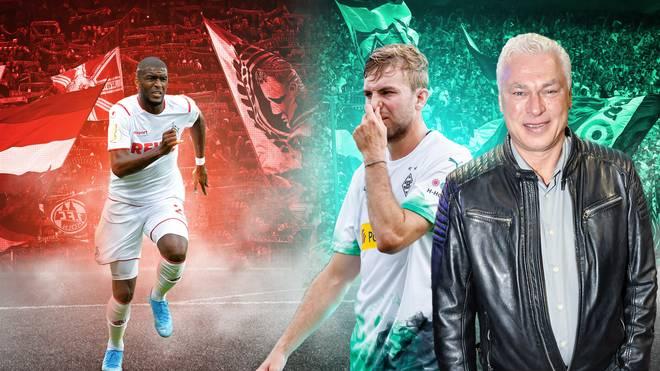 Bundesliga-Legende Toni Polster (r.) blickt auf das Rheinische Derby 1. FC Köln gegen Borussia Mönchengladbach voraus
