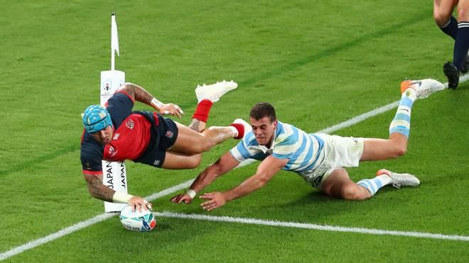 Auch Argentinien konnte England nicht an einem weiteren Sieg hindern