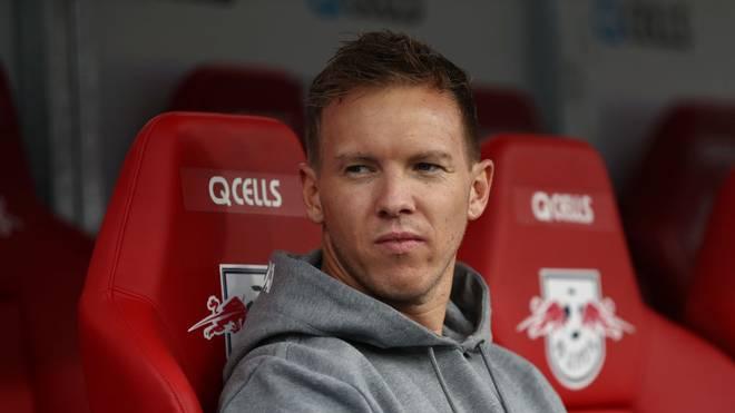 Julian Nagelsmann ist seit Sommer Trainer von RB Leipzig