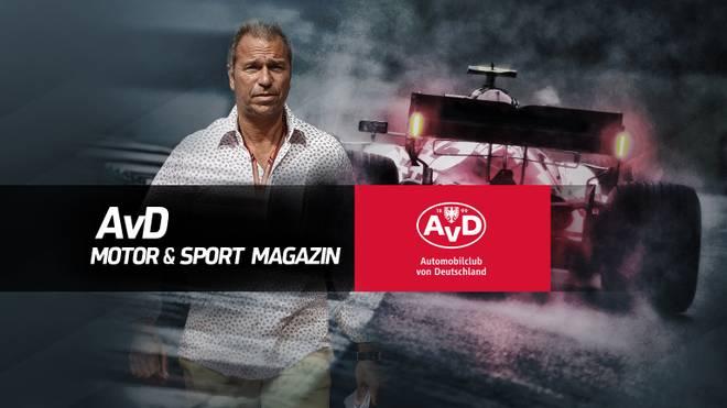 Kai Ebel ist zu Gast im AvD Motor & Sport Magazin