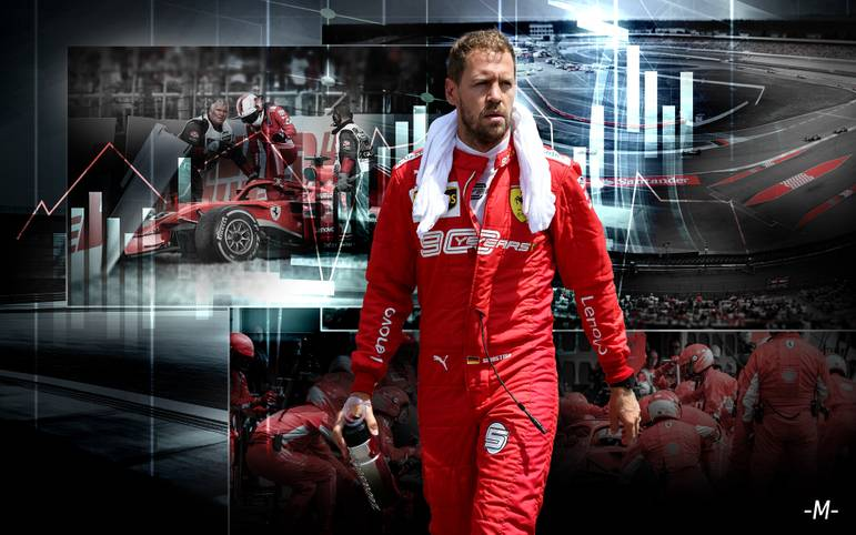 Sebastian Vettel bestreitet an diesem Wochenende seinen zehnten Grand Prix in Deutschland. Seine bisherigen Auftritte in der Heimat gleichen eine Achterbahnfahrt - mit dem Drama im Vorjahr. SPORT1 blickt zurück auf Vettels Rennen auf dem Hockenheim- und Nürburgring und beleuchtet die Chancen des viermaligen Weltmeisters beim Jubiläum