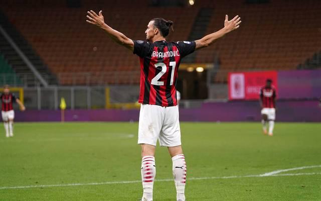 Zlatan Ibrahimovic hat seinen Vertrag zuletzt beim AC Mailand verlängert