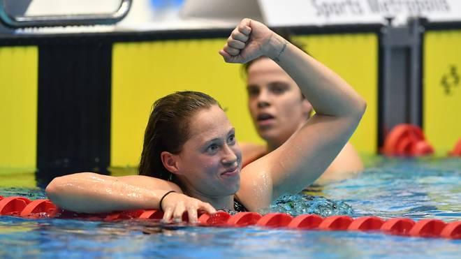 Sarah Köhler ist Deutschlands beste Schwimmerin