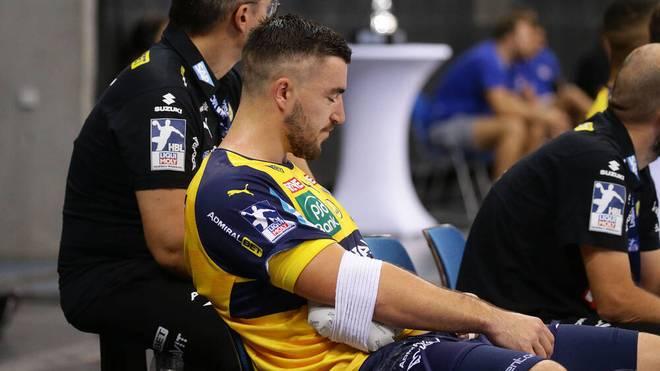 Jannik Kohlbacher hat sich eine Verletzung im Ellenbogen zugezogen