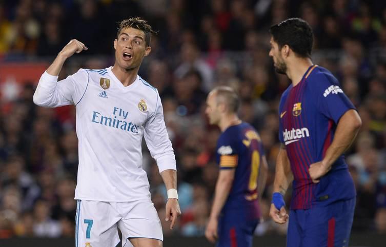 Packend, packender, el Clasico! Obwohl die spanische Meisterschaft schon zugunsten des FC Barcelona entschieden ist, liefern sich die Katalanen einen emotionalen Schlagabtausch mit Vorjahreschampion Real Madrid