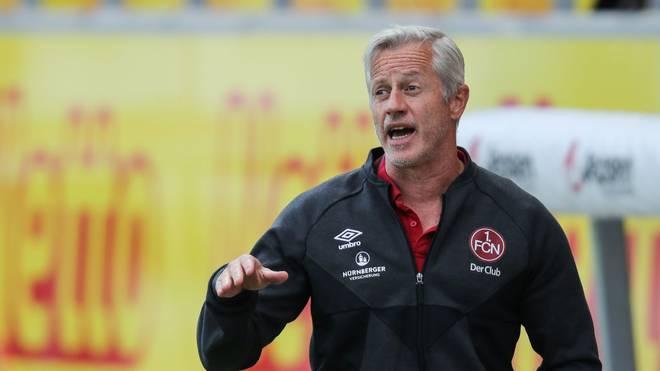 Jens Keller ist seit November Trainer des 1. FC Nürnberg