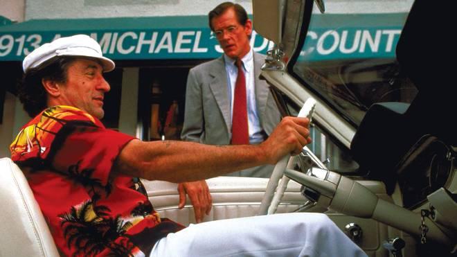 "Robert de Niro (mit Nick Nolte) als Max Cady in ""Kap der Angst"""