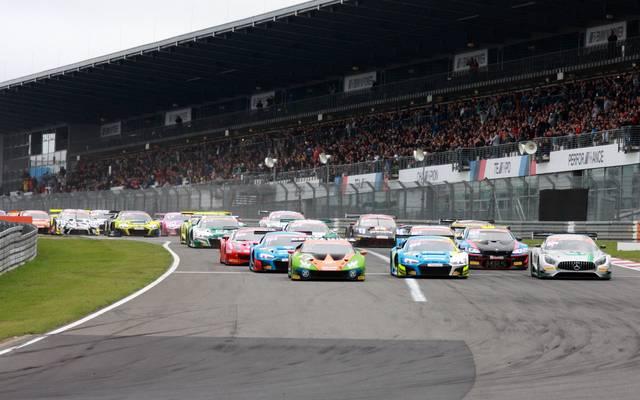 Das ADAC GT Masters fährt jedes Jahr am Nürburgring