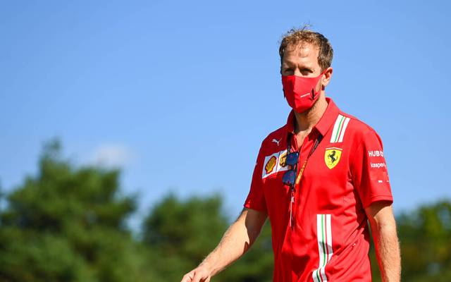 Sebastian Vettel könnte bei Racing Point Sergio Perez beerben
