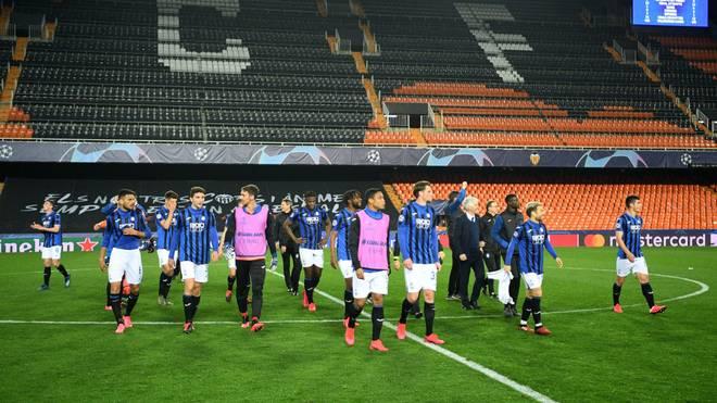 Das vorerst letzte Spiel gewann Atalanta Bergamo 2:1 im Geisterspiel von Valencia