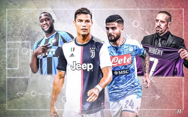 Am Wochenende startet die Serie A in die neue Saison 2019/20: Titelverteidiger Juventus Turin hat zuletzt acht Mal in Folge den Scudetto gewonnen und geht als haushoher Favorit in die neue Spielzeit