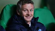 GLASGOW, SCOTLAND - NOVEMBER 05:  Ole Gunnar Solskjaer the head coach of Molde looks on during the UEFA Europa League Group A match between Celtic FC and Molde FK at Celtic Park on November 5, 2015 in Glasgow, United Kingdom.  (Photo by Ian MacNicol/Getty Images)