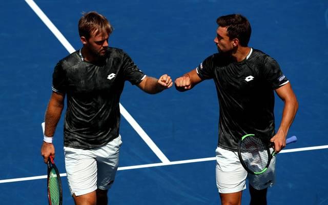 Das deutsche Duo Kevin Krawietz und Andreas Mies steht bei den US Open im Halbfinale