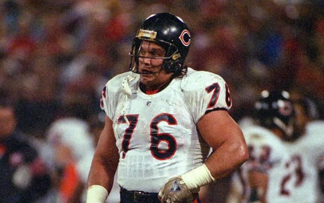 Steve McMichael zu seiner NFL-Zeit mit den Chicago Bears 1991