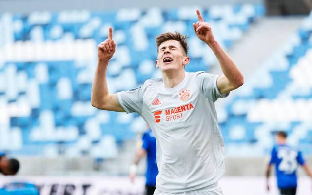 Lenn Jastremski sorgte für den Siegtreffer der Bayern beim 1. FC Saarbrücken
