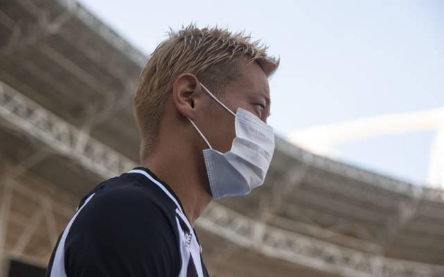 Keisuke Honda ist japanischer Nationalspieler