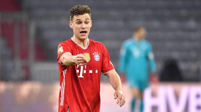 Joshua Kimmich steht mit Bayern vor dem nächsten Meistertitel