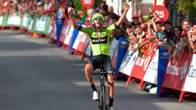 Mikel Iturria hat die elfte Etappe der Spanien-Rundfahrt gewonnen