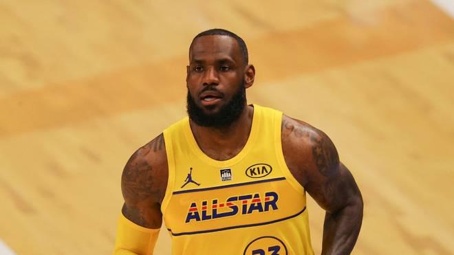Gewann vier Mal den NBA-Titel: LeBron James