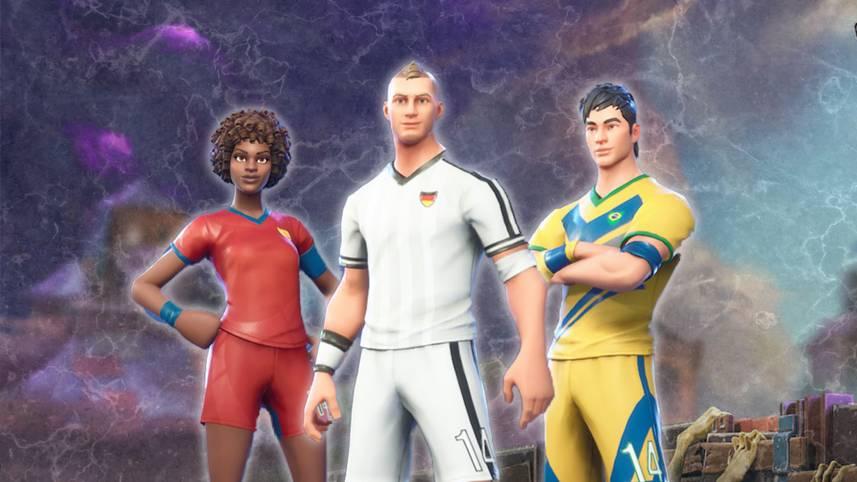 Zum WM-Start hat Entwickler Epic Games passende Outfits, Charaktere und Jubelgesten veröffentlicht. Über den Shop können verschieden Fußballer, Nationaltrikots oder andere Gegenstände mit WM-Bezug erworben werden. Auch die Rote Karte ist vorhanden. SPORT1 präsentiert die aktuellen WM-Skins