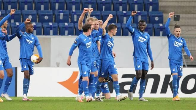 Die TSG Hoffenheim zeigt sich in der Europa League weiter von ihrer Schokoladenseite und gewinnt gegen Slovan Liberec
