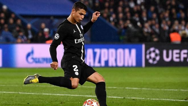 Thiago Silva fehlt PSG gegen Dortmund