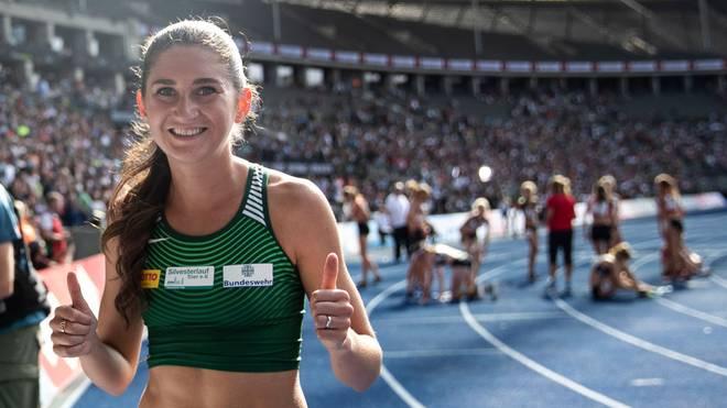 Gesa Felicitas Krause lief neuen Weltrekord