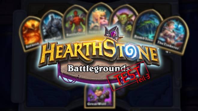 Der große Hearthstone Battlegrounds Test - Teil 3