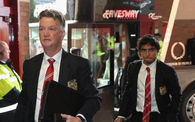 Rafael (r.) hatte keine Freude an Louis van Gaals Zeit bei Manchester United