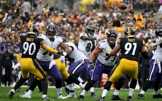 Lamar Jackson und die Ravens empfangen die Steelers