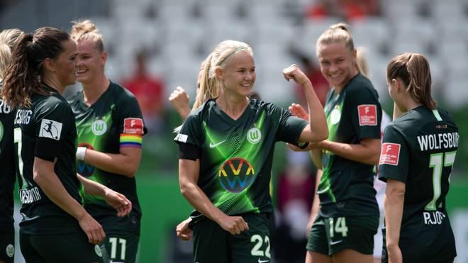 Der VfL Wolfsburg steht erneut im Pokalfinale