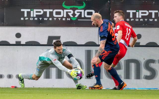 Sven Ulreich sorgte mit einem Patzer für die Niederlage des Hamburger SV