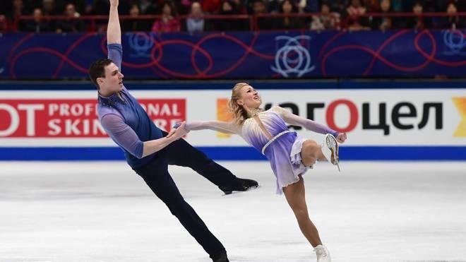 Aljona Savchenko holte 2018 mit Bruno Massot olympisches Gold