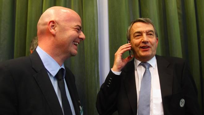 Wolfgang Niersbach will Gianni Infantino als neuen FIFA-Präsidenten