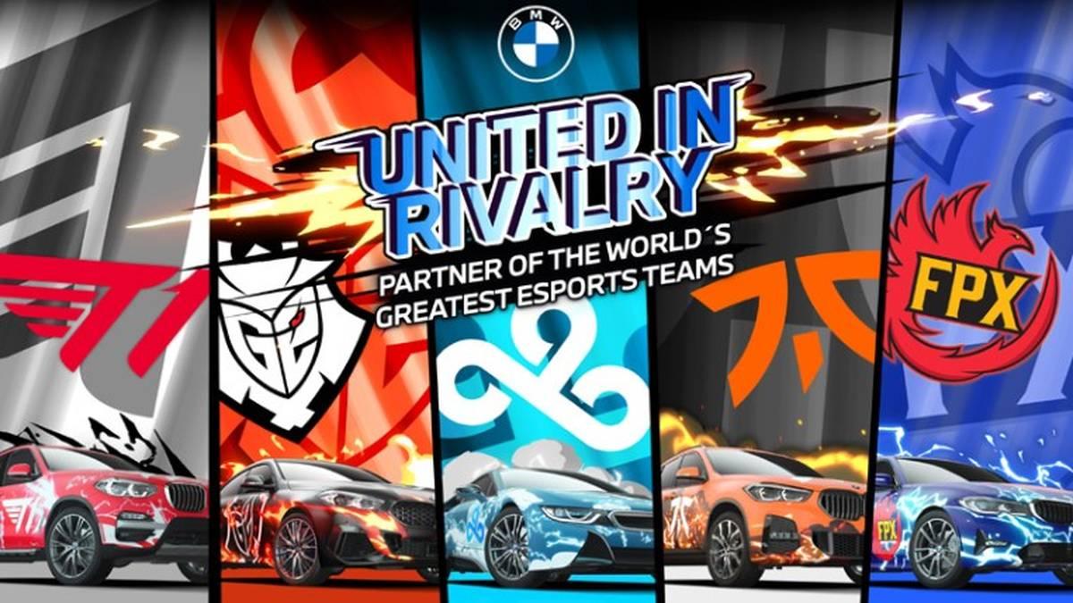 BMW wird der offizielle Partner von fünf der weltweit größten eSports-Organisationen.