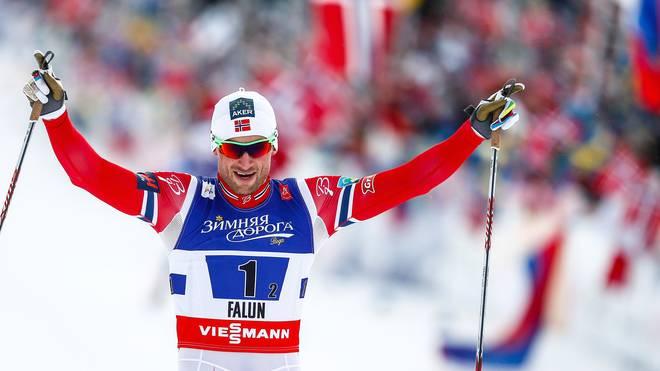 Petter Northug-Nordische Ski-WM in Falun