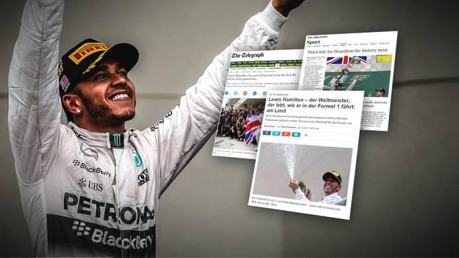 Nach seinem Weltmeisterstück von Austin singt die Presse Lobeshymnen auf Lewis Hamilton