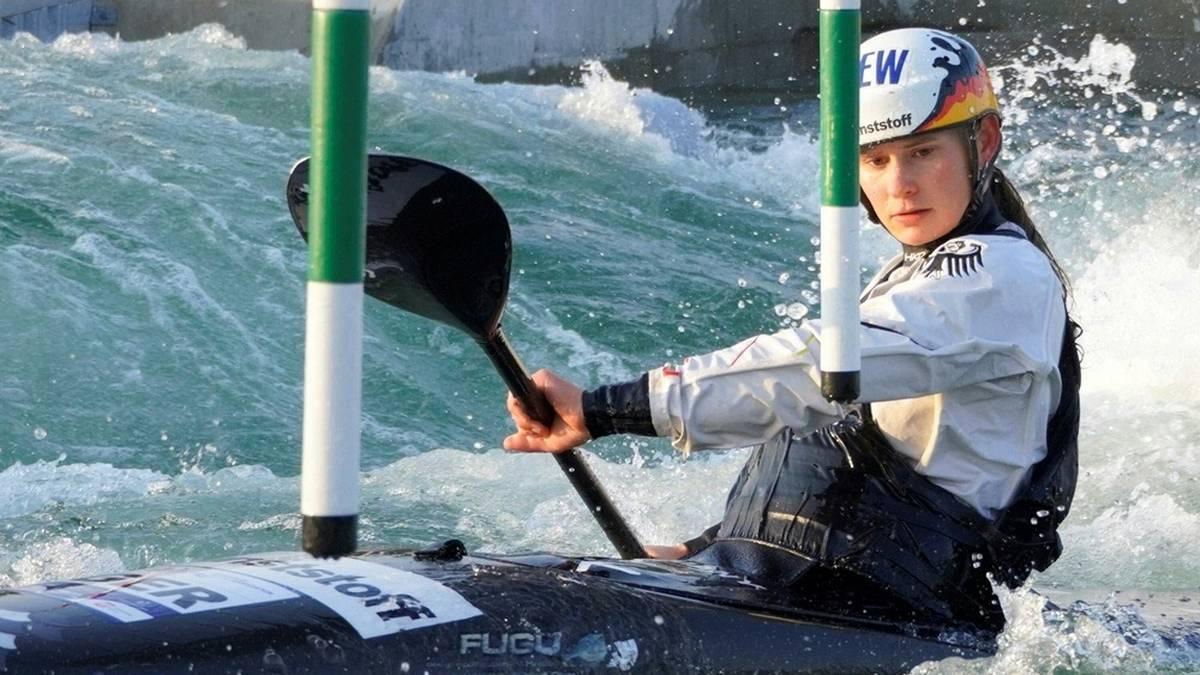Elena Apel ist Weltmeisterin im Canadier-Einer