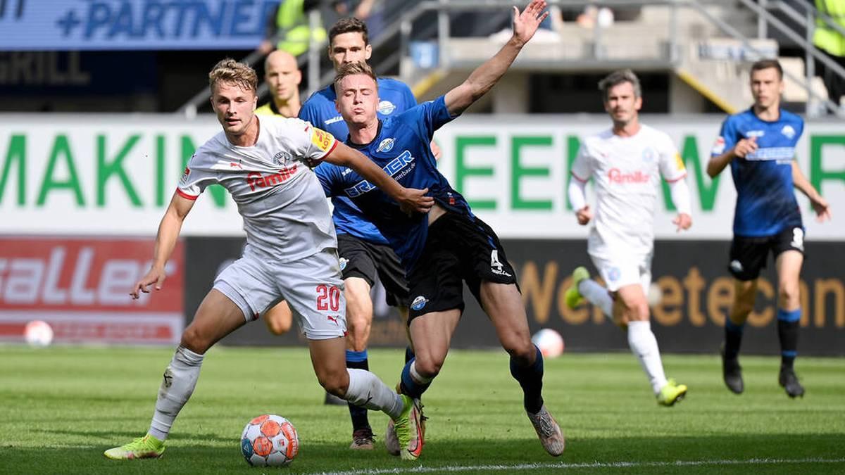 Paderborn verpasst Rückkehr an die Spitze