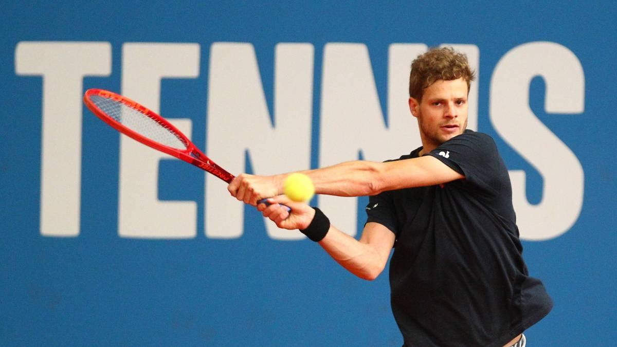 Yannick Hanfmann siegt im Finale des Tennis-Turniers von Höhr-Grenzhausen