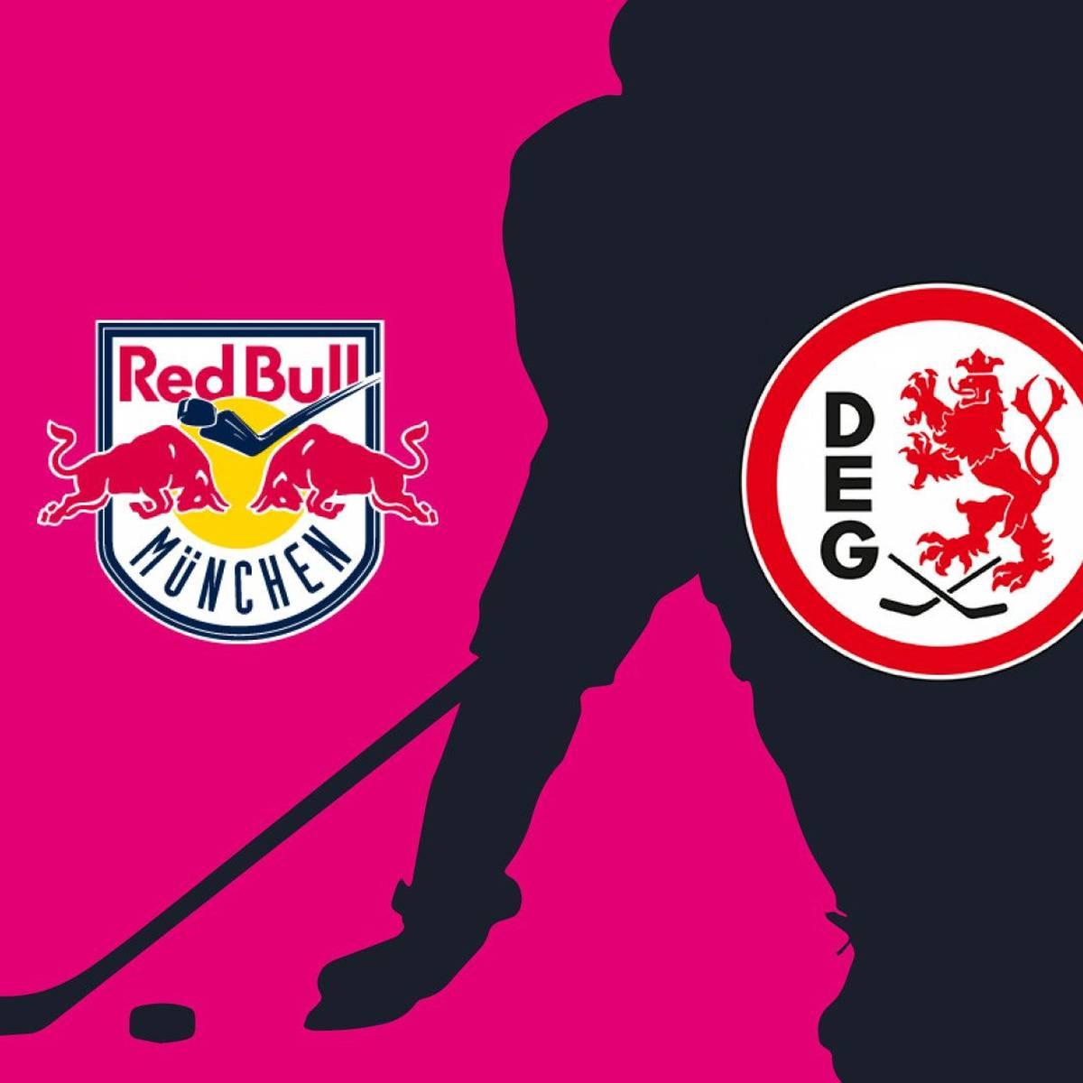 EHC Red Bull München - Düsseldorfer EG (Highlights)