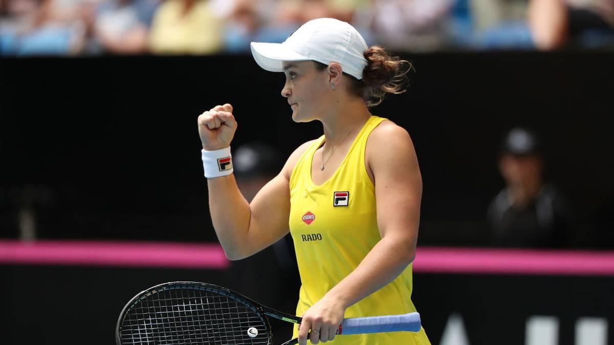 Ashleigh Barty ist die herausragende Tennis-Spielerin Australiens